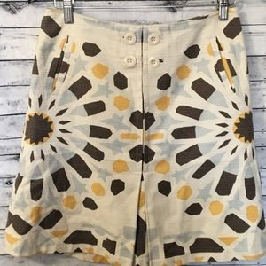 Anthropologie Elevenses Skirt Size 4